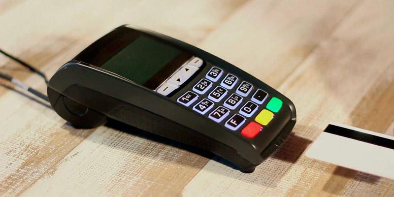 Máquina de cartão de crédito com as menores taxas